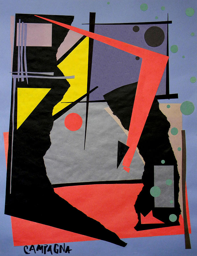 Cut Paper Tapestry - Textile - Untitled by Teddy Campagna