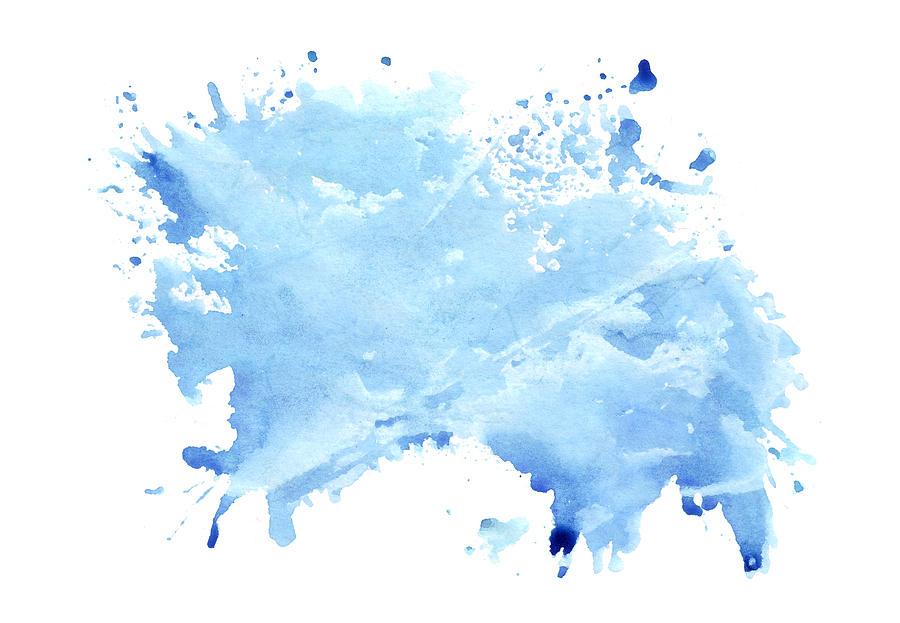 Watercolor Splash Painting By Maryna Kulchytska We print the highest quality watercolor splash onesies on the internet. watercolor splash by maryna kulchytska