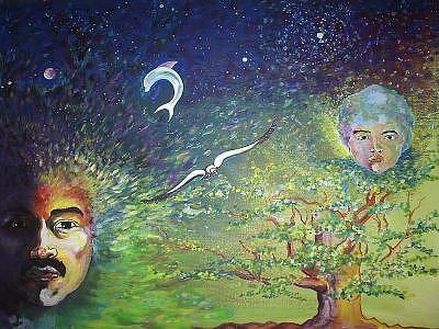 Evolucion Painting by CarloS Camacho