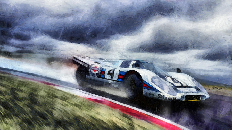 917 Action by Tano V-Dodici ArtAutomobile