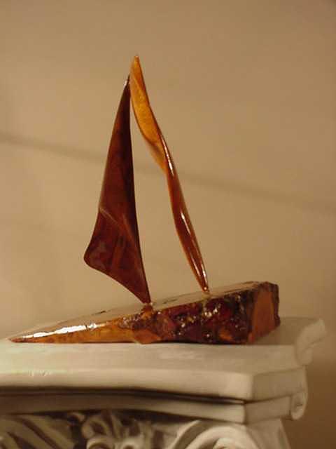Enraptured I Sculpture by G Peter Richards