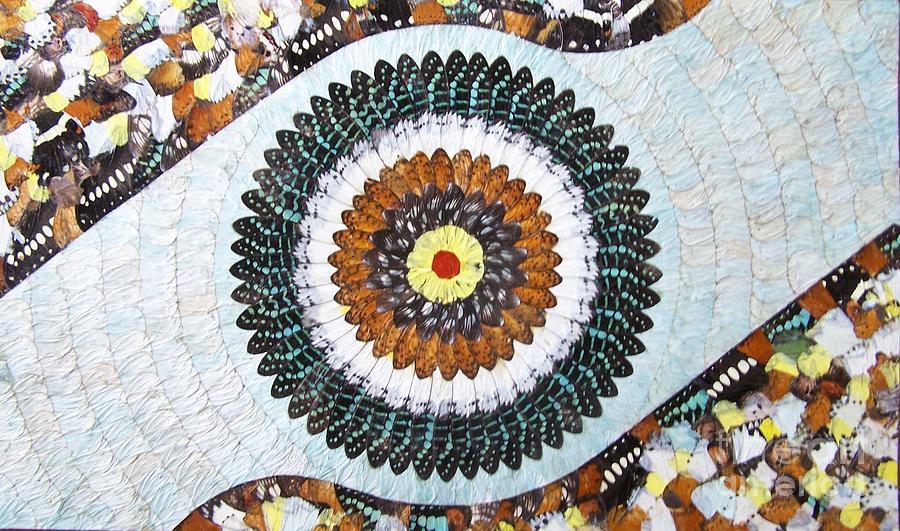 Butterfly Wings Painting - Butterfly Wings by Ayhan Yilmaz