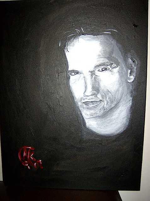 Arnold Schwarzenegger Painting - Arnie by Michaela Gilt