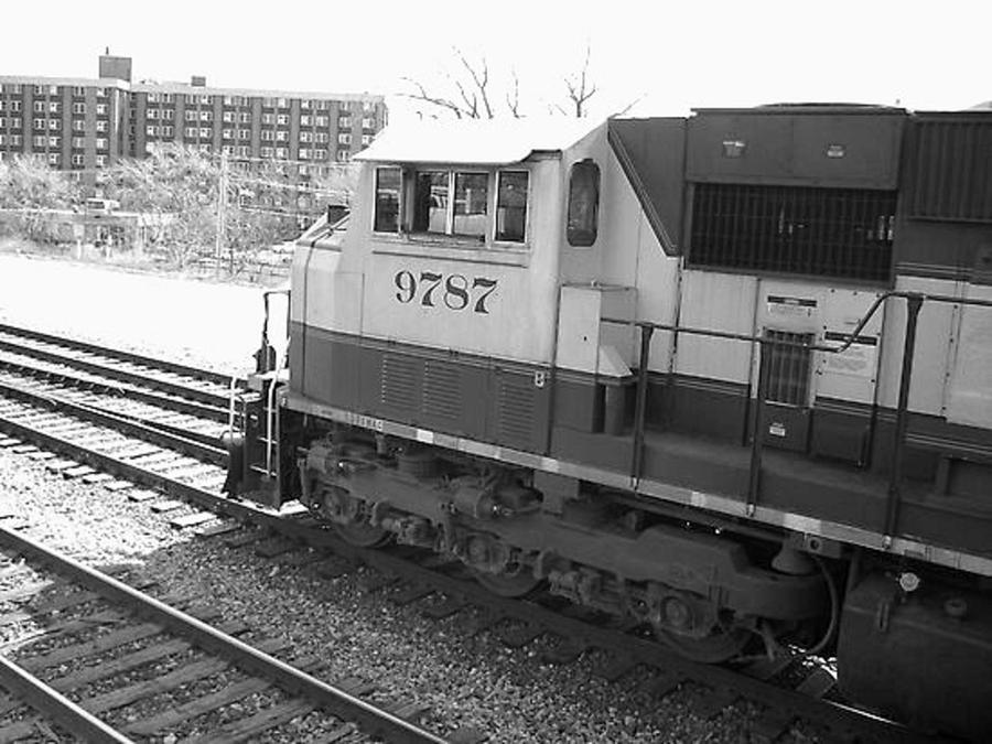 Railroad Photograph - 9787 by Brad Hutchings