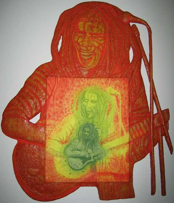 Painting Painting - Bob Marley by Gerald Sabatini