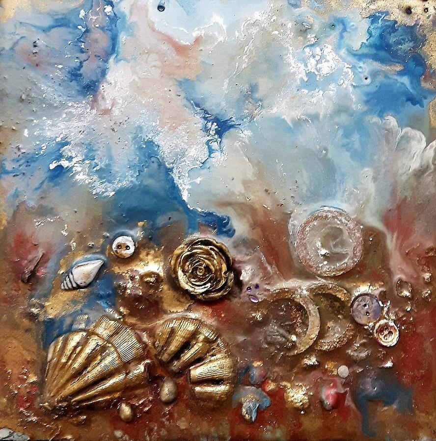 #997 A Rose Painting by Linda Skibinsky