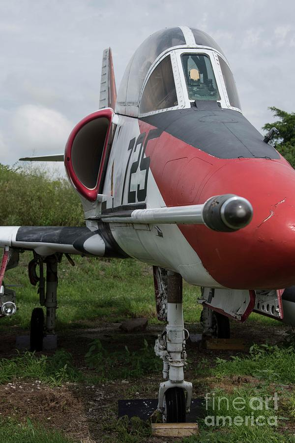 United States Photograph - A - 4 Skyhawk - 3 by David Bearden
