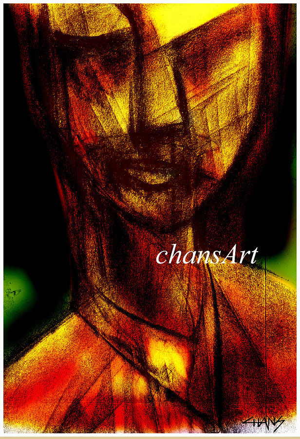 Painting Painting - A 52 by Chandrasekharan Chans