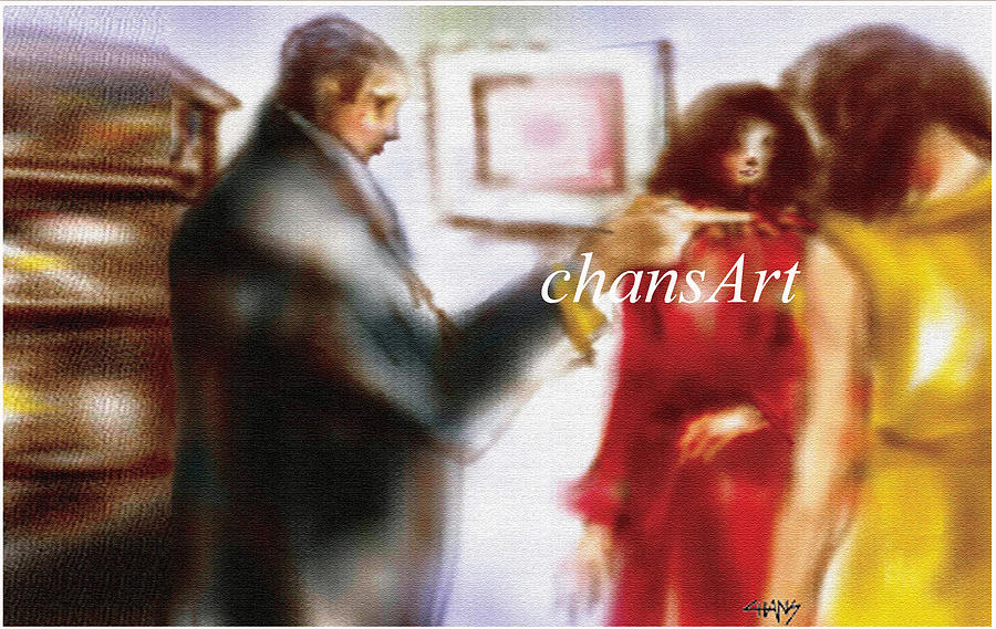 Painting Painting - A 75 by Chandrasekharan Chans