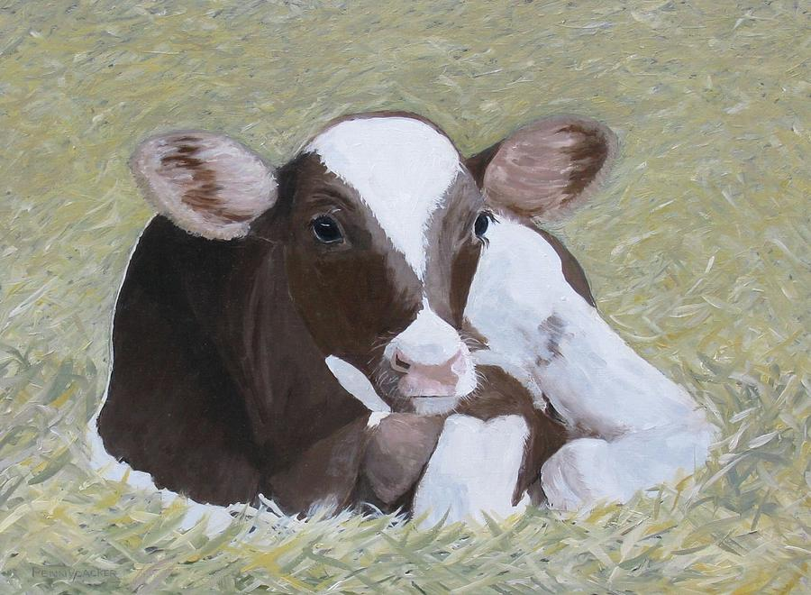 A Baby Ayrshire by Barb Pennypacker