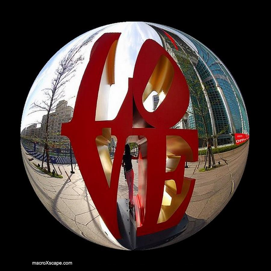 Love Photograph - A Ball Of Love by JCYoung MacroXscape