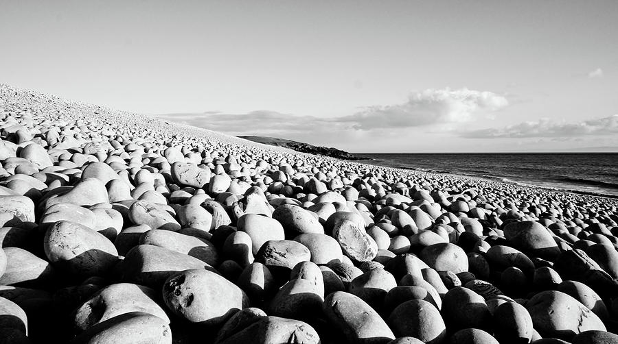 Barry Photograph - A Beach Of Stones by Trance Blackman
