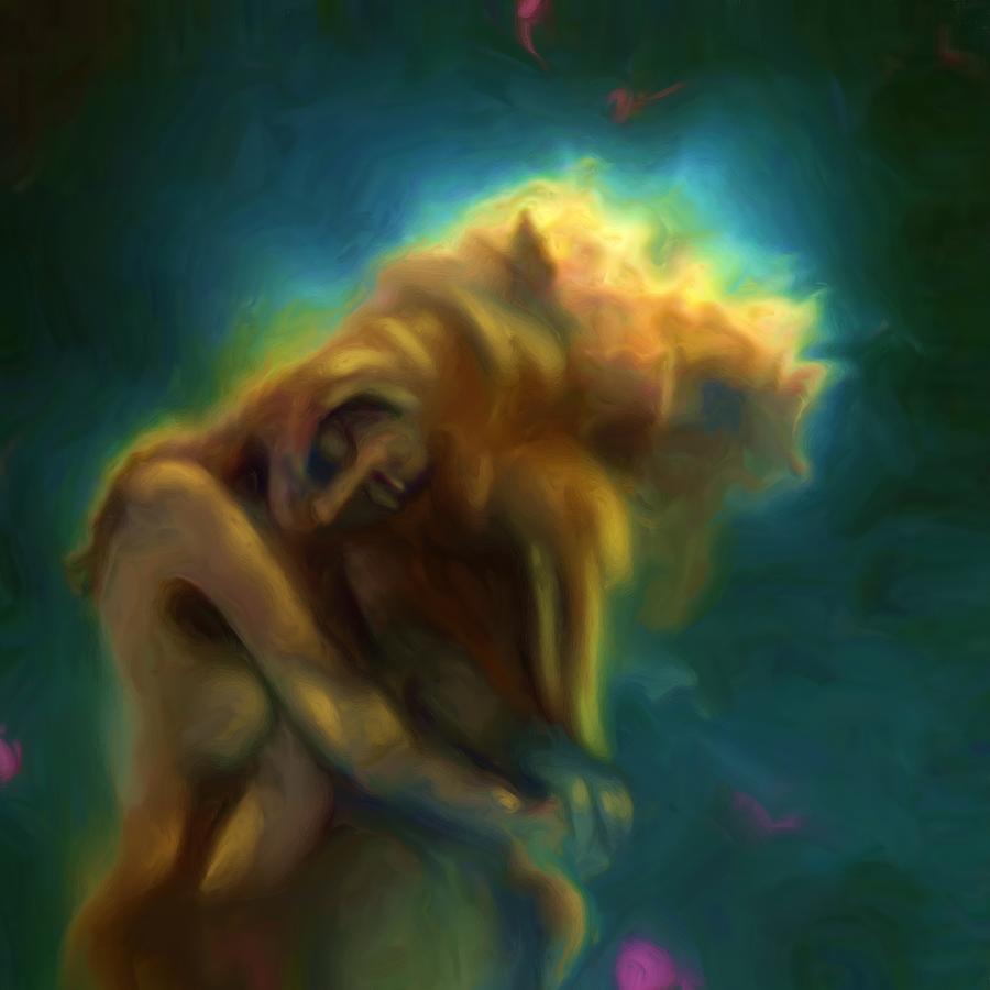 Nebula Painting - A Beautiful Dream by Shelley Bain