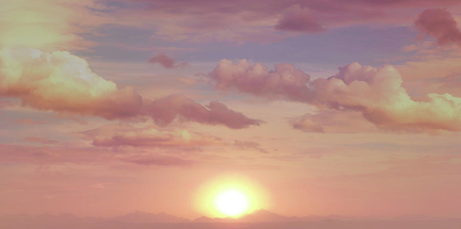 Morning Photograph - A Beautiful Morning by Johanna Hurmerinta