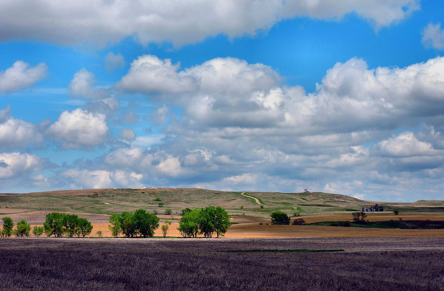 A Beautiful Spring Day In Northcentral Kansas Photograph