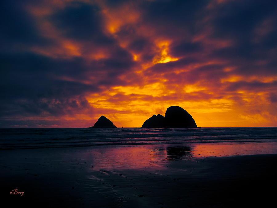 A Beautiful Sunset by Douglas Berg