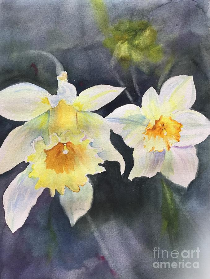 A Bit Of Spring Painting by Yohana Knobloch