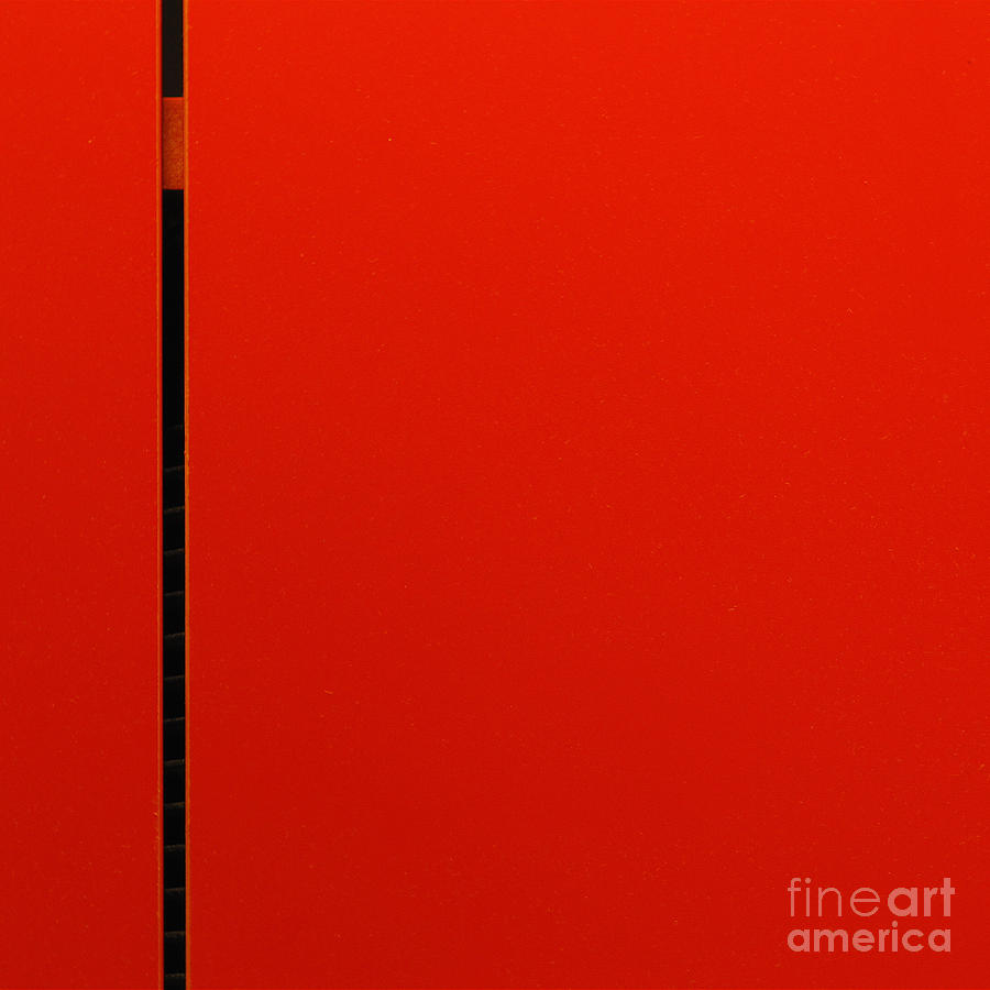 Abstract Photograph - A Break In The Action by CML Brown