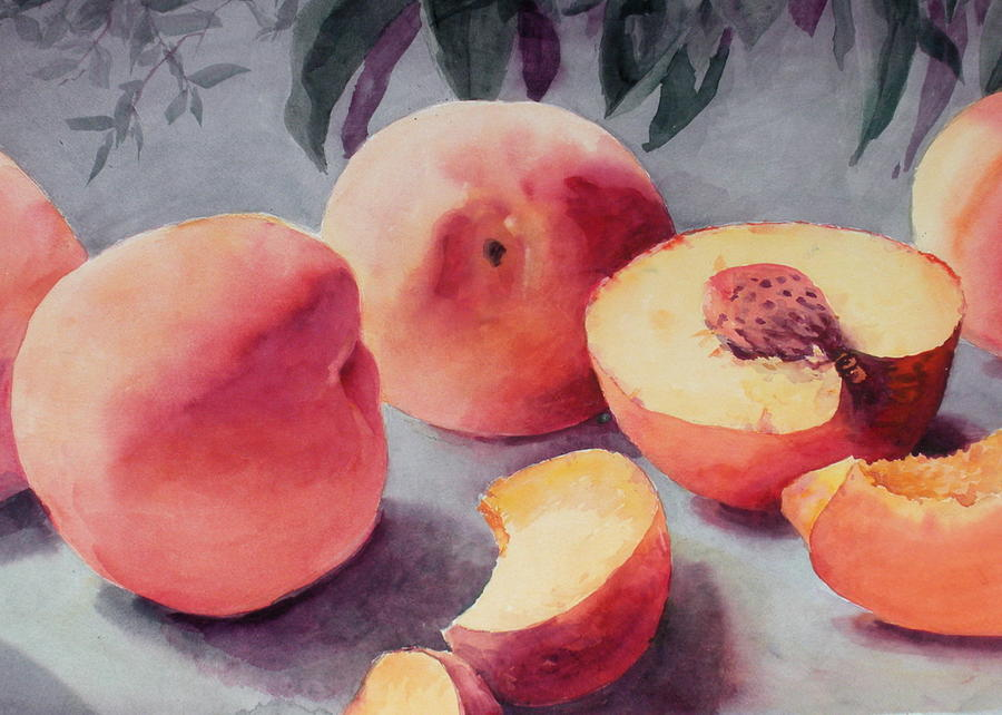 Still Life Painting - A Bumper Crop by Faye Ziegler