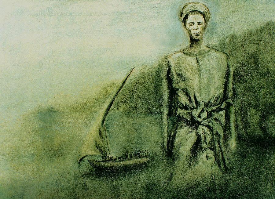 Woman Drawing - A Bunyakyusa Woman by Mushtaq Bhat