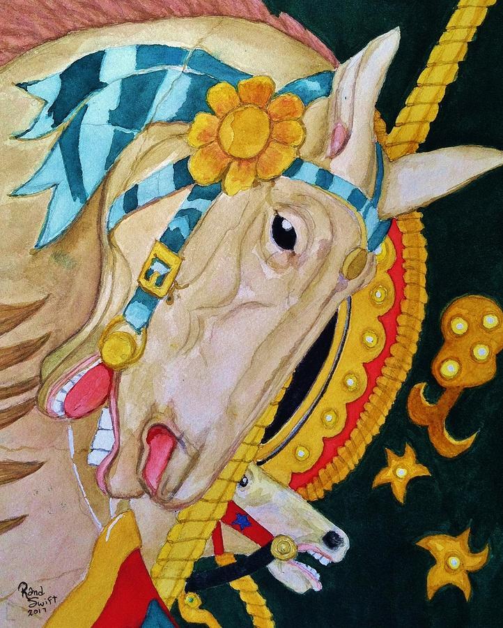 A Carousel Horse