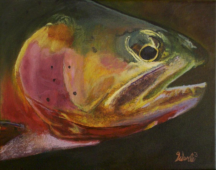 Western Paintings Painting - A Certain Cutthroat by Bill Werle
