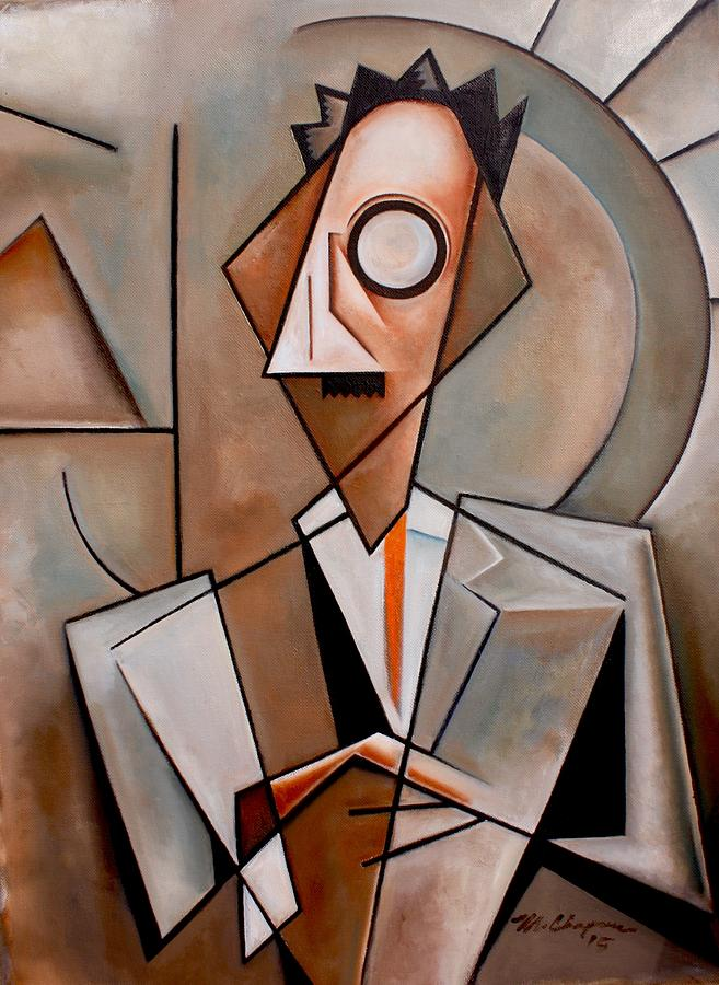 Jean Toomer Painting - A Certain Man / Jean Toomer by Martel Chapman