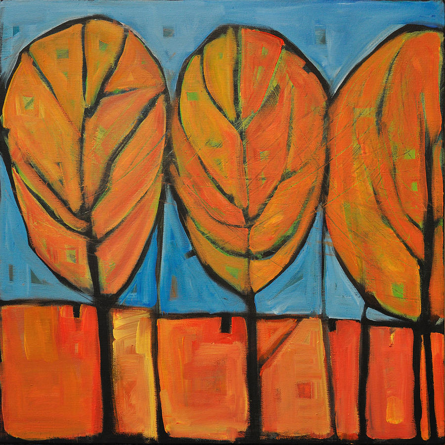 Fall Painting - A Change Of Seasons by Tim Nyberg