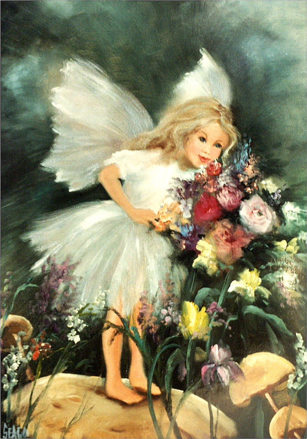 Dreams Painting - A Childs Dream by Sally Seago