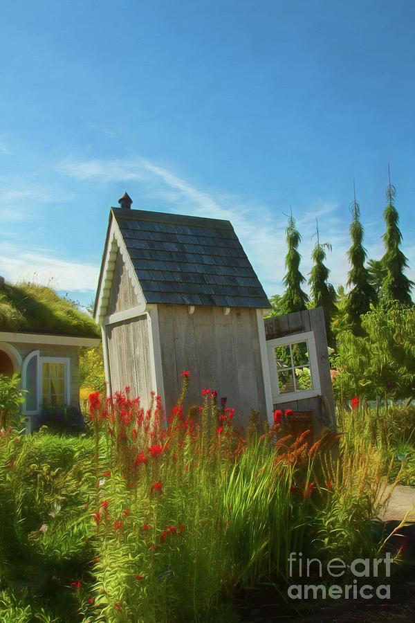 Botanic Gardens Photograph - A Childs Garden by Marilyn Cornwell