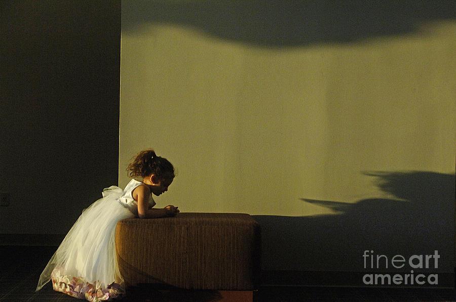 Child Photograph - A Childs Prayer by Gib Martinez