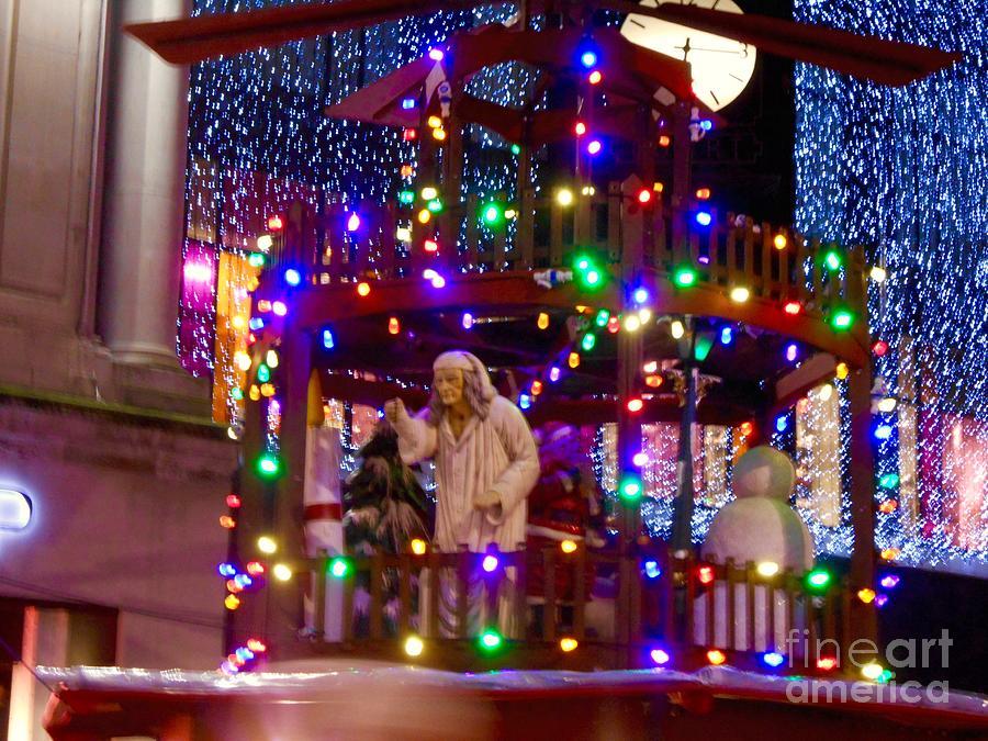 A Christmas Carol Photograph - A Christmas Carol Lights by Joan-Violet  Stretch - A Christmas Carol Lights Photograph By Joan-Violet Stretch
