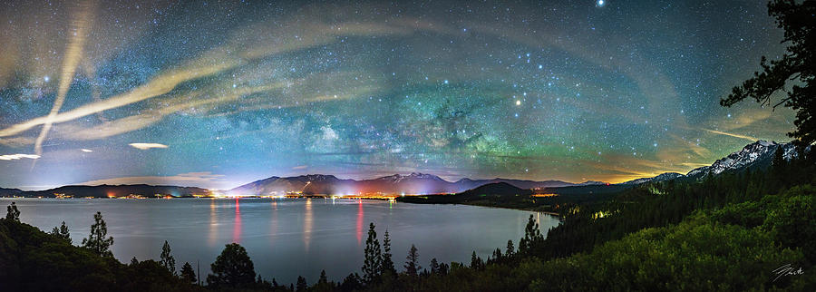 Lake Tahoe Photograph - A City Full Of Stars By Brad Scott by Brad Scott
