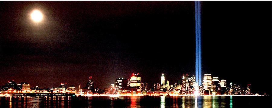 New York Photograph - A Citys Lights by Richard Gerken