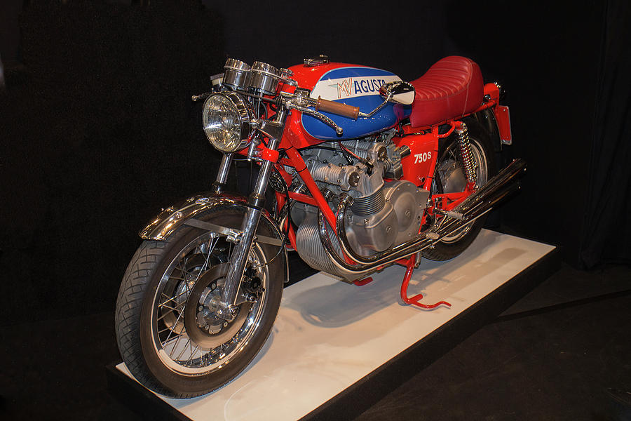A Classic Mv Augusta Motorcycle At The London Classic Car Show - Augusta car show