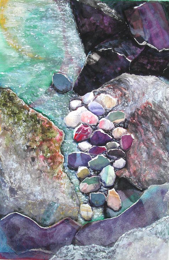 Nature Mixed Media - A Collection Of Rocks by Joanne Osband