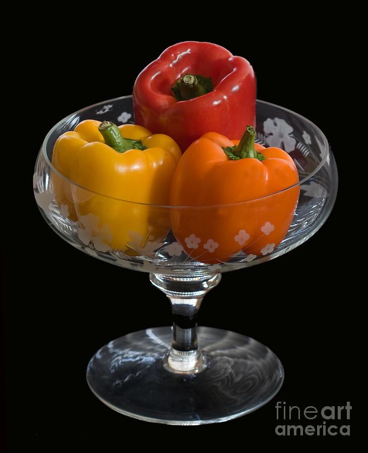 Still Life Photograph - A Colorful Trio by Robert Pilkington