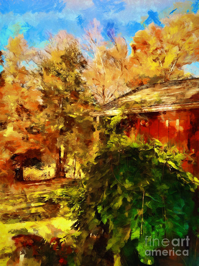 Autumn Photograph - A Corner Of Autumn  by Claire Bull