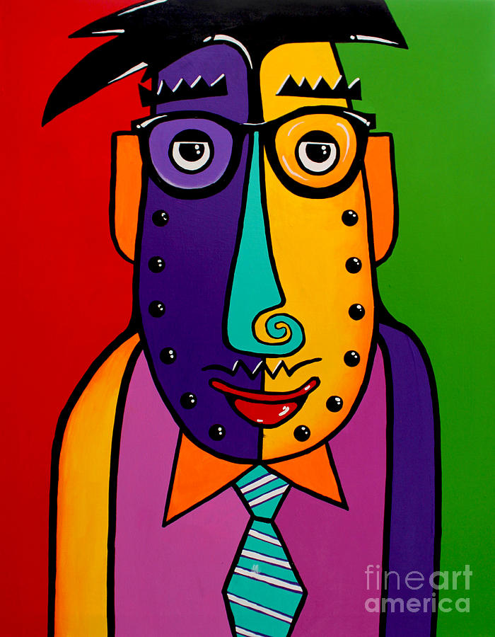 Corporate Painting - A Corporate Kinda Guy by Tim Ross