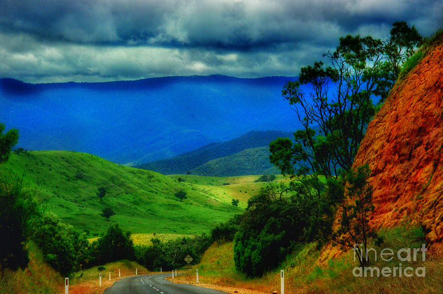 Victoria Photograph -  A Country Mile by Blair Stuart