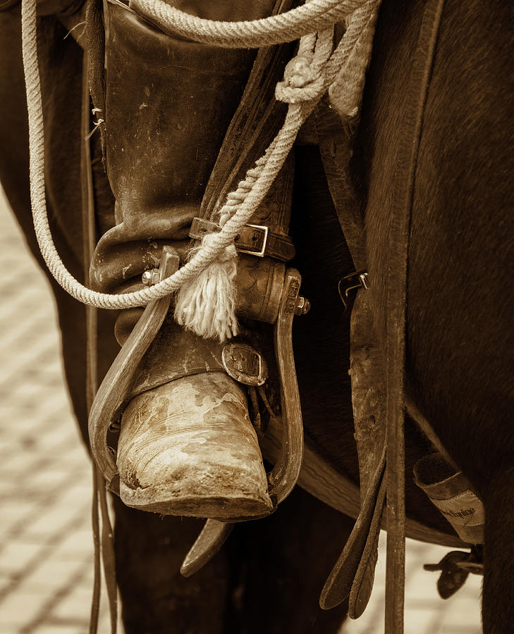 A Cowboy's Boot by Jeanne May
