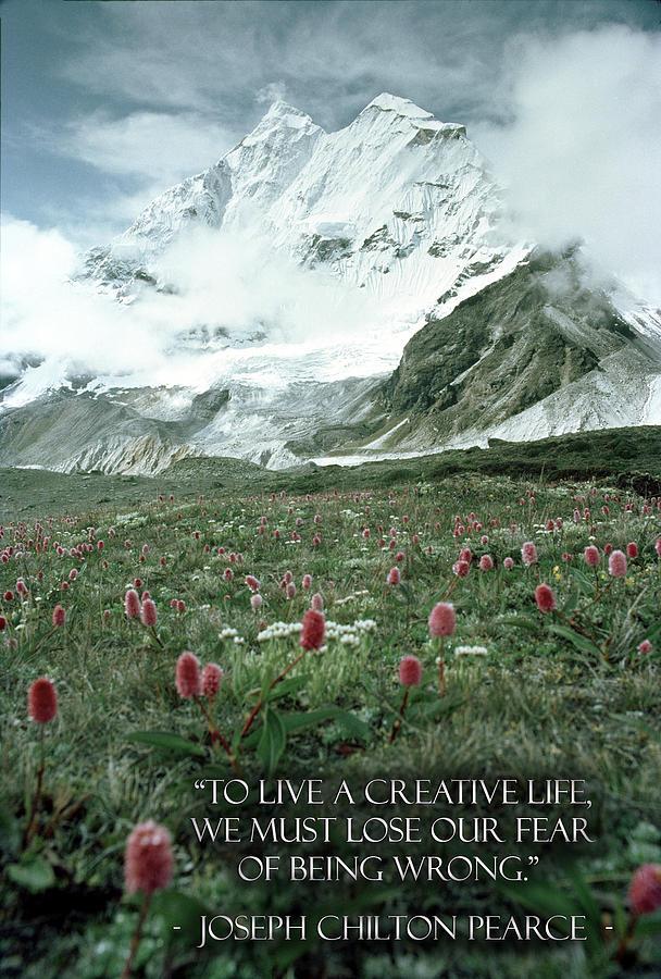 Makalu Photograph - A Creative Life by Kyle Schmierer