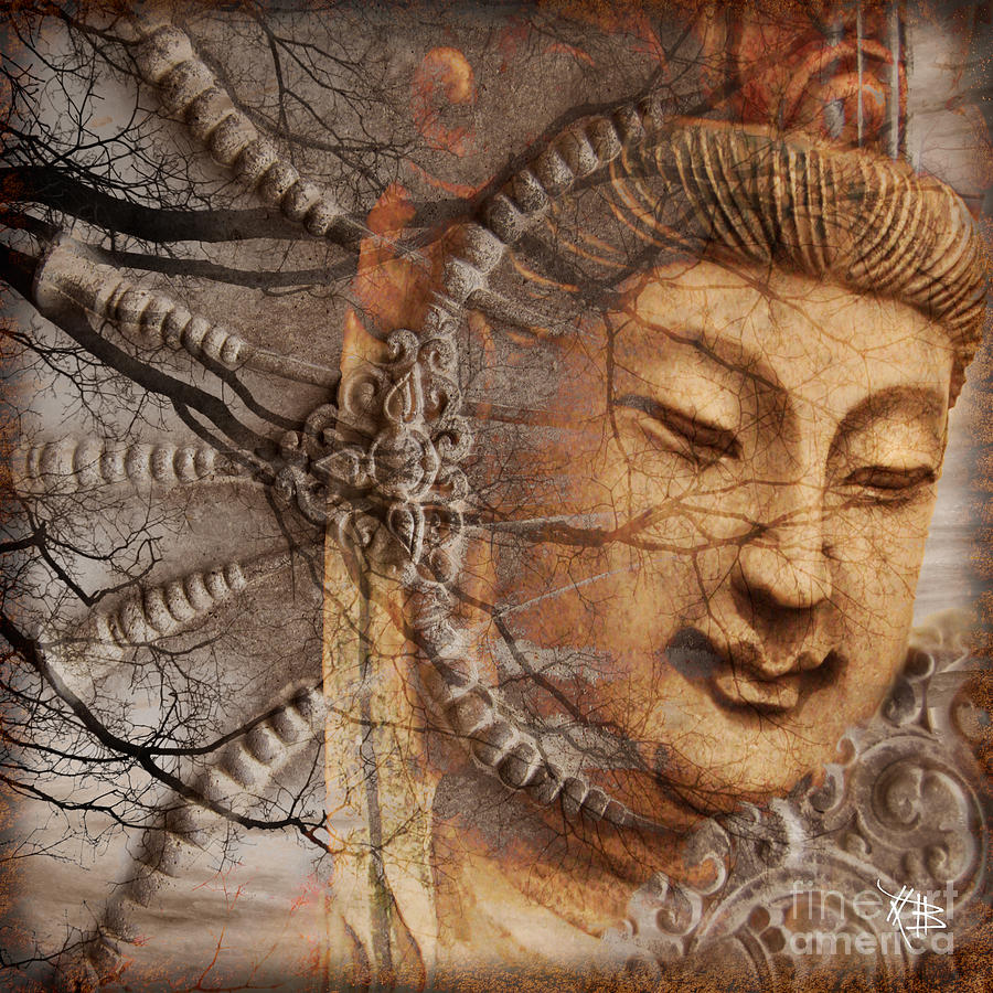 Guan Yin Digital Art - A Cry Is Heard by Christopher Beikmann