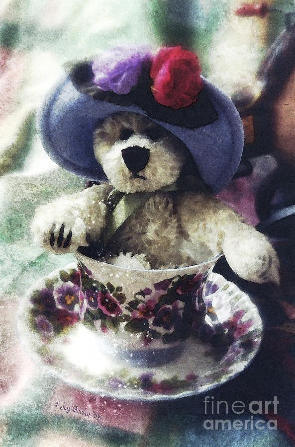 Twila Photograph - A Cup of Twila by Joy Gerow