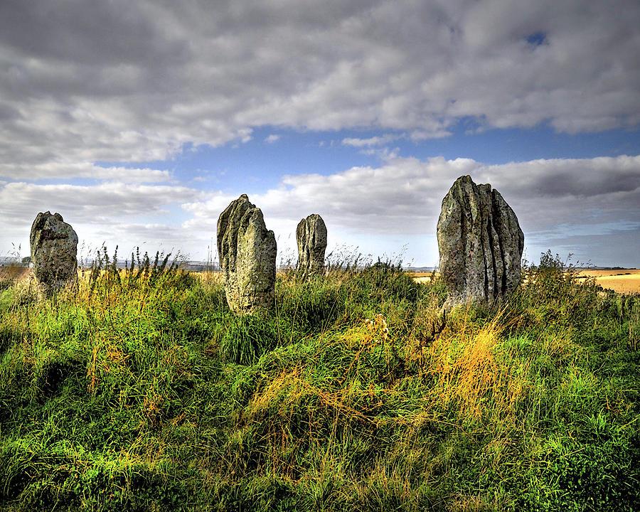 Stone Circle Digital Art - Song Of The Stones by Vicki Lea Eggen
