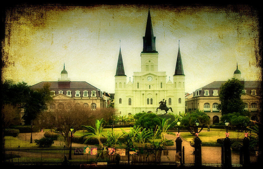 New Orleans Photograph - A Day At The Church by Iris Greenwell