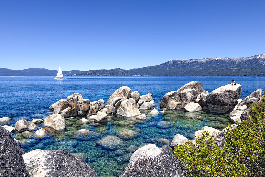Lake Tahoe Photograph - A Day At The Lake by Janet Fikar