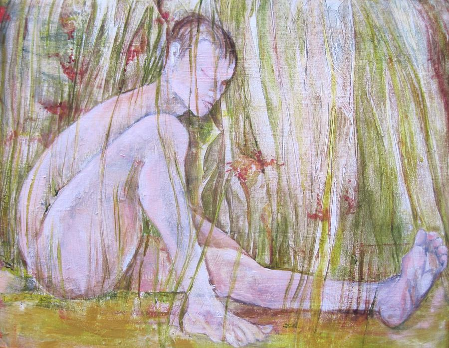 A Day In The Grass Painting by Georgia Annwell