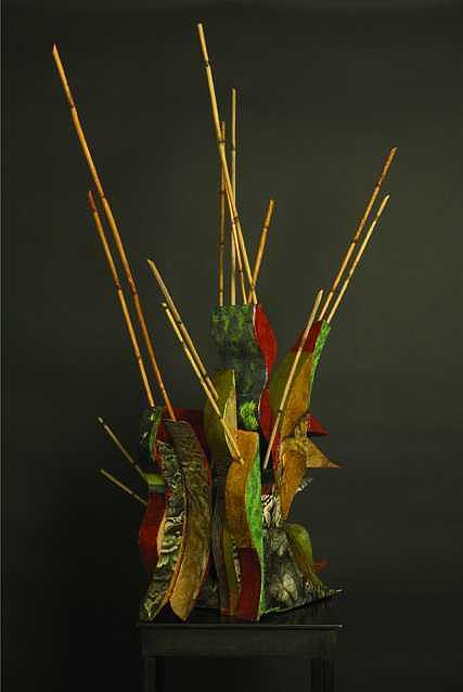 Wood Sculpture - A Day Of Silence by Chantal Maltais Oei