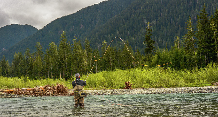 Fly Fishing Photograph - A Day on the River by Jason Brooks